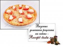 Пицца «Капрезе»