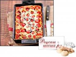 Клафути - на тему пиццы