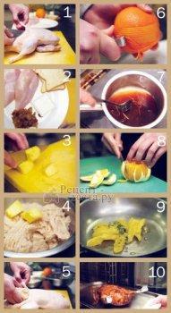 Утка фаршированная ананасом